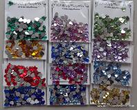 ADGEMS04 Sparkling Whatnots Gem Collection Mini Shapes 12 x 5g