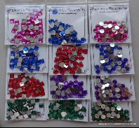 ADGEMS02 sparkling Whatnots Gem Collection Jewel Colours 12 x 5g